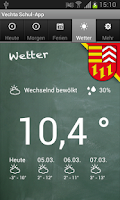 Screenshot of Vechta Schul-App