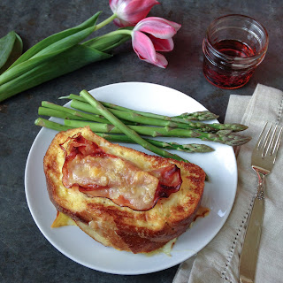 Ham And Gruyere Stuffed French Toast