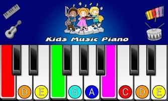 Screenshot of Kids Music Piano