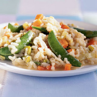 Risotto with Sugar Snap Peas and Spring Leeks Recipe