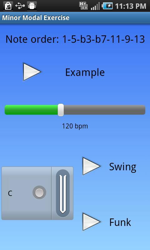 iImprov - Modal- screenshot