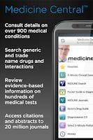 Screenshot of Medicine Central