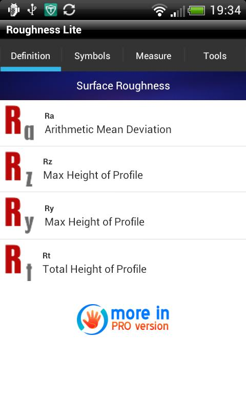 Roughness Lite - screenshot