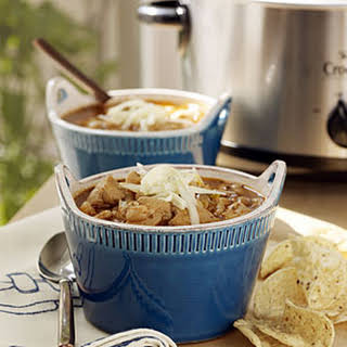 Slow-Cooker White Chicken Chili.