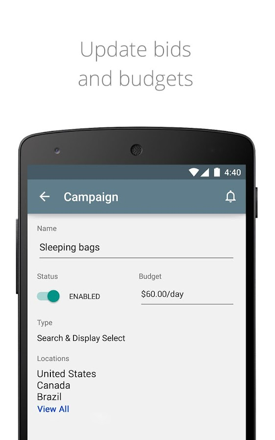 how to add keywords to shopping campaign adwords