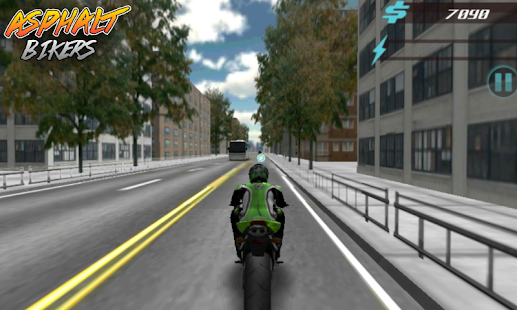 Asphalt Bikers FREE - screenshot thumbnail