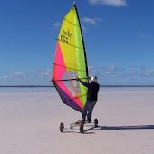 Land Windsurfing