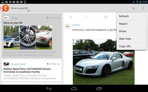 Tapatalk Pro - 100,000+ Forums  screenshots 12