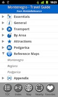 Screenshot of Montenegro - FREE Guide & Map