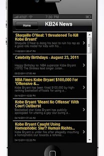 Kobe Bryant - screenshot thumbnail