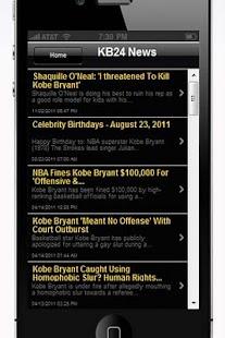Kobe Bryant - screenshot thumbnail
