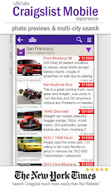 cPro Craigslist Mobile Client Screenshot 1