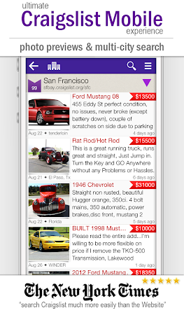 cPro+ Craigslist Mobile Client 3.24 screenshot 550836