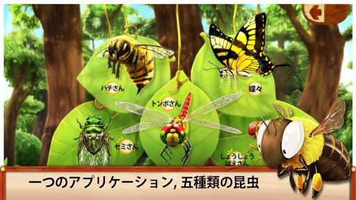 空を飛ぶ昆虫さんたち Japanese