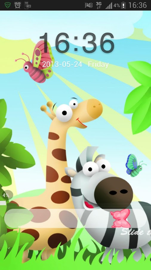 GO Locker Theme animals - screenshot