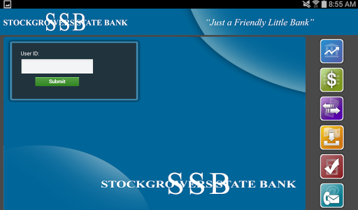 Stockgrowers State Bank Tablet