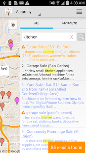 Yard Sale Treasure Map Apps On Google Play - Garage sale treasure map