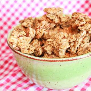 Maple Almond Granola Clusters