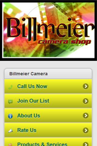 Billmeier Camera Shop