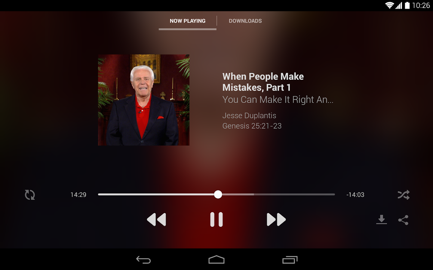 Jesse Duplantis Ministries - screenshot
