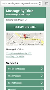San Diego Massage Service - screenshot thumbnail