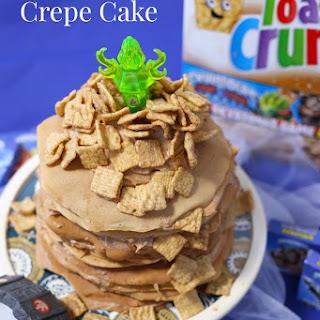 Skylanders Cinnamon Toast Crunch Crepe Cake