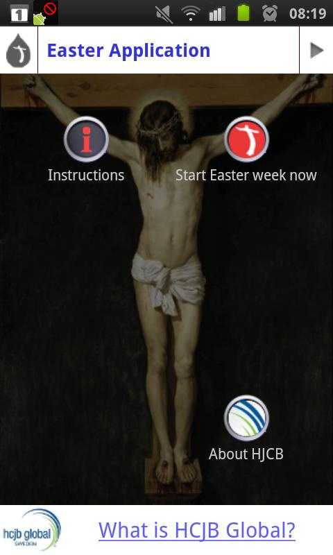 Live with Christ - Easter App - screenshot