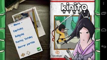 Screenshot of Kinito Ninja Lite
