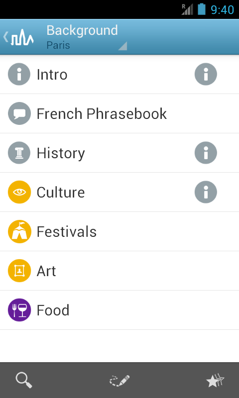 Paris Travel Guide by Triposo- screenshot
