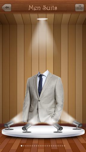 男西装:照片蒙太奇