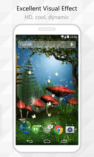Mushrooms Live Wallpaper