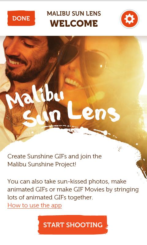 Malibu Sun Lens - screenshot