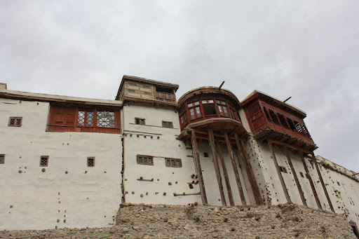 Front Face of Baltit Fort
