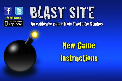 Blast Site- screenshot