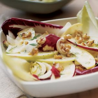 Belgian Endive, Apple and Walnut Salad