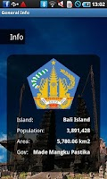 Screenshot of Bali Travel Guide