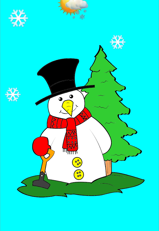 Coloring Christmas  Kids game  Android Apps on Google Play