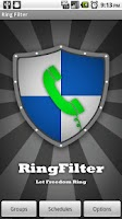 Screenshot of RingFilter