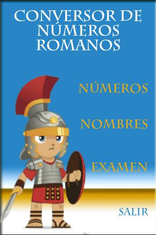 Juego Números Romanos