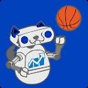INDST Football & Basketball logo
