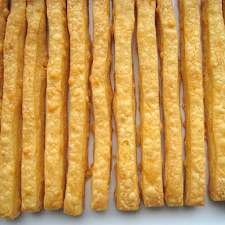 Thanksgiving and Cheese Straws Recipe