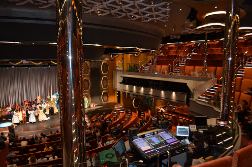Costa-Diadema-Emerald-Theater - The Emerald Theater is the main entertainment venue on Costa Diadema.
