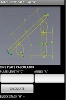 Screenshot of CNC MACHINIST CALCULATOR