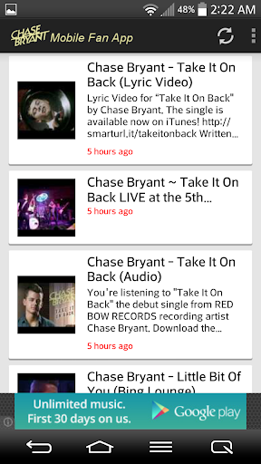 Chase Bryant Fans Mobile  screenshots 4