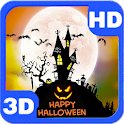 Happy Halloween Full Moon Hill icon