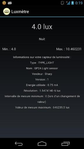 Luxmeter v1.0
