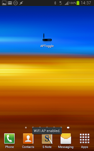 AP Toggle WiFi/HotSpot/Tether 1.6 screenshots 2