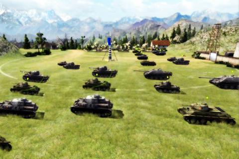 Tank Driving Game
