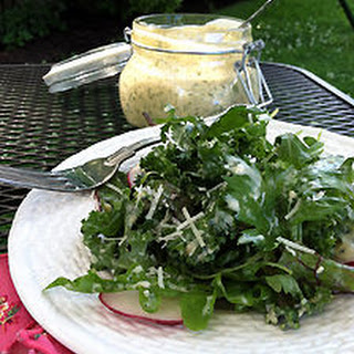 Buttermilk & Fresh Herb Salad Dressing.