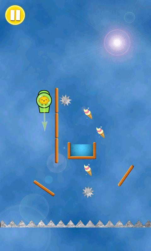 Diving Chick- screenshot